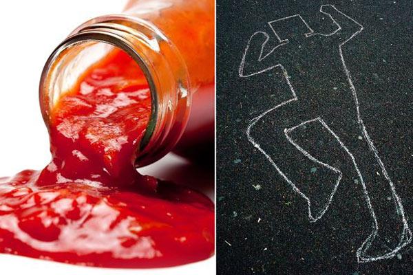 Dùng sốt cà chua giả chết để chia tay tình nhân