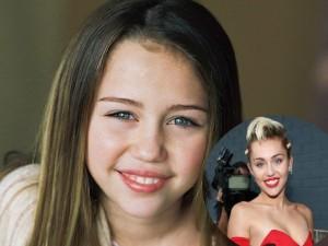 Chùm ảnh quá khứ hồn nhiên của Miley Cyrus