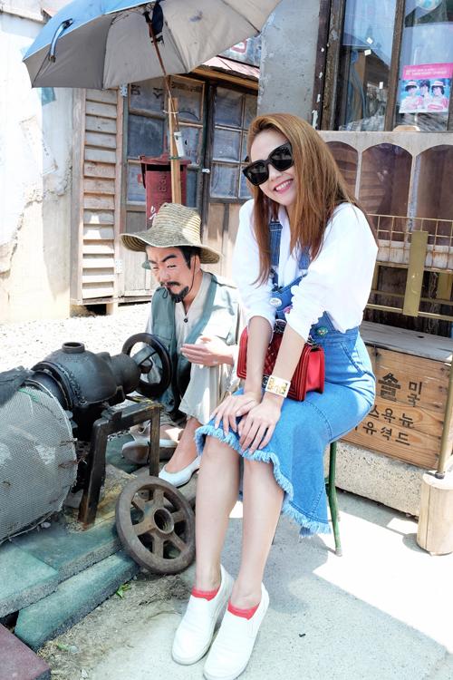 1435633173 zefranh5 ccbp Minh Hằng chuộng đồ xì tin trên phố Hàn