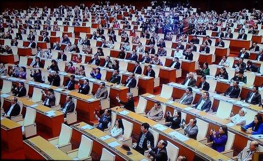 Các đại biểu Quốc hội nên đứng trong lễ tuyên thệ? - 2