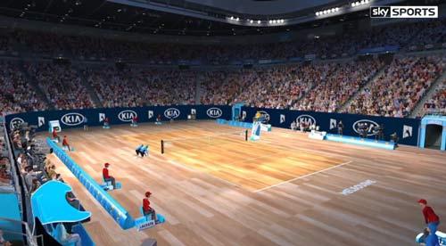 Khó tin: Australian Open đổi sang mặt sân gỗ - 1
