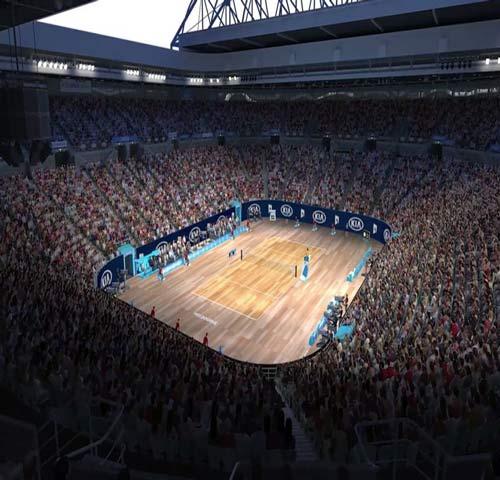 Khó tin: Australian Open đổi sang mặt sân gỗ - 2