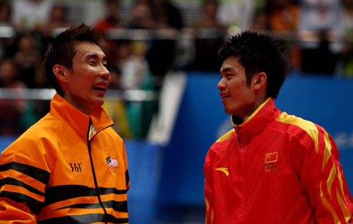 lin dan vs lee chong wei - 1