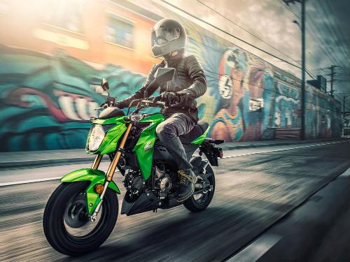 Kawasaki Z125 Pro: đối thủ xứng tầm của Honda Grom - 1