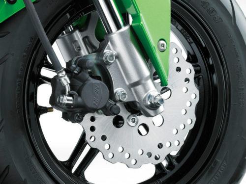 Kawasaki Z125 Pro: đối thủ xứng tầm của Honda Grom - 4