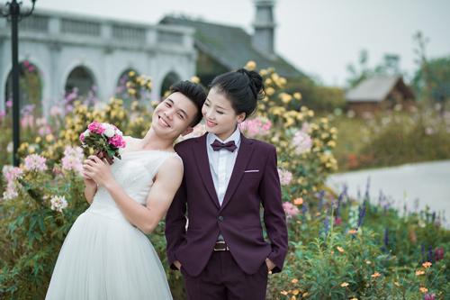 Ảnh cưới độc đáo: Cô dâu chú rể hoán đổi giới tính - 2