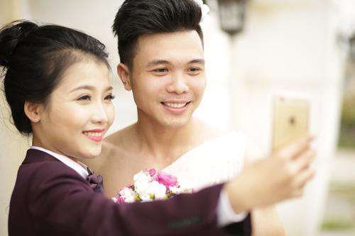 Ảnh cưới độc đáo: Cô dâu chú rể hoán đổi giới tính - 5