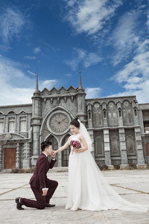 Ảnh cưới độc đáo: Cô dâu chú rể hoán đổi giới tính - 7
