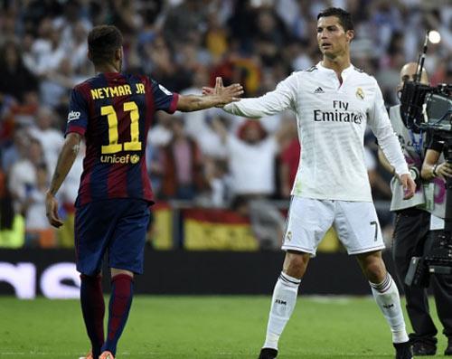Doi hinh sieu kinh dien Barca vs Real Madrid - 1