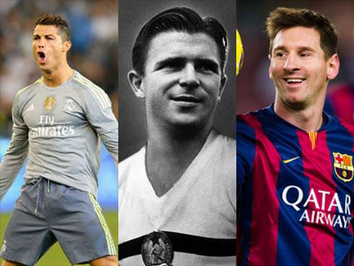 Vĩ đại nhất World Cup: CR7 vượt Messi, thua Puskas - 1