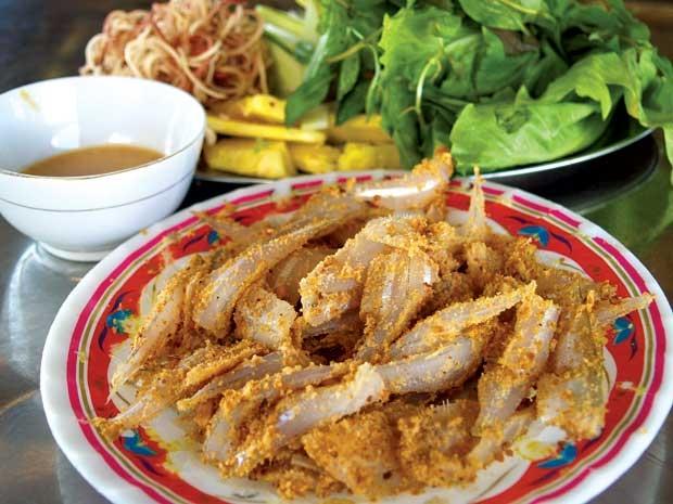 Ngọt miệng với gỏi cá mòi Quảng Ninh - 1