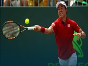 Thể thao - Nishikori - Monfils: Tinh thần Samurai  (Tứ kết Miami Open)