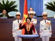 Video An ninh - Clip: Tân Chủ tịch Quốc Hội tuyên thệ nhậm chức