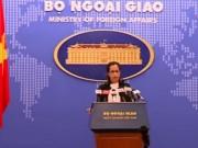 Video An ninh - Bộ Ngoại giao VN lên tiếng về giàn khoan Hải Dương TQ