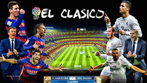 barca vs real madrid - 1
