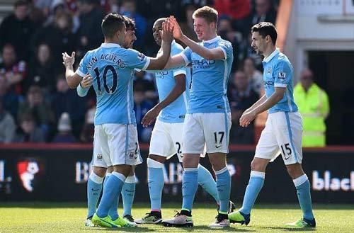 Video Bournemouth vs Man City - 1