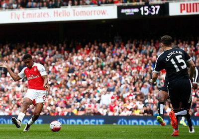 """Chi tiết Arsenal – Watford: Walcott """"đóng đinh tỉ số"""" (KT) - 4"""