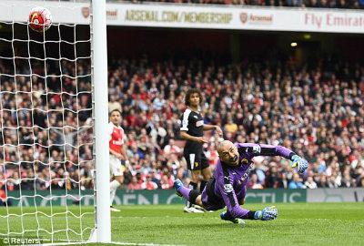 """Chi tiết Arsenal – Watford: Walcott """"đóng đinh tỉ số"""" (KT) - 6"""