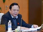 Tin tức trong ngày - Đề nghị miễn nhiệm Phó Chủ tịch Quốc hội