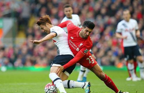 video Liverpool vs Tottenham - 1