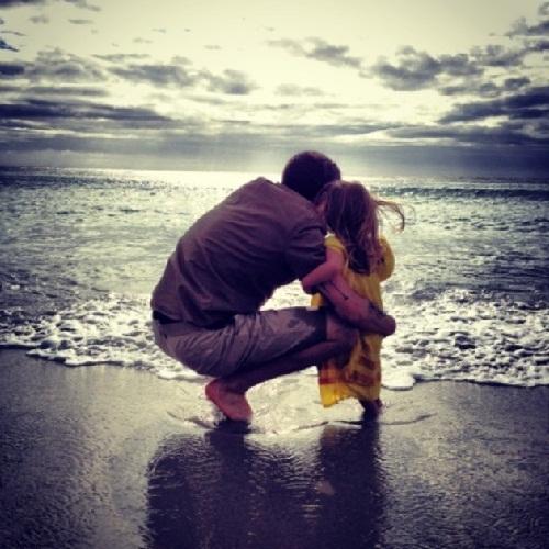 Khoảnh khắc tuyệt đẹp của cha và con - 13