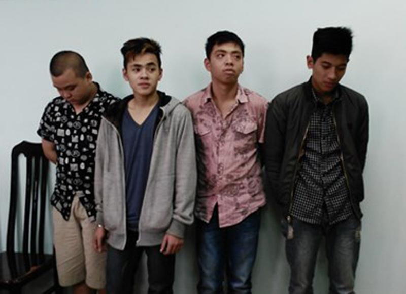 """Nhóm cướp tuổi teen chuyên """"săn đêm"""" tại HN sa lưới - 1"""