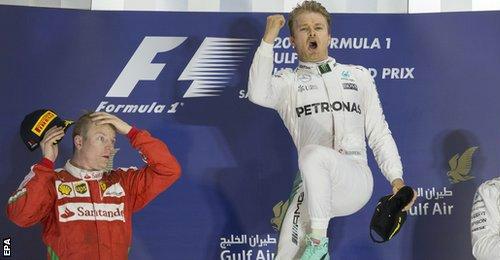 F1, Bahrain GP: Vận đen Vettel, bản lĩnh Rosberg - 4