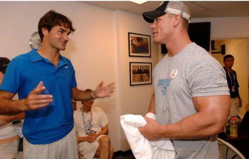 Tennis 24/7: Federer là fan cuồng của môn đấu vật Mỹ - 1
