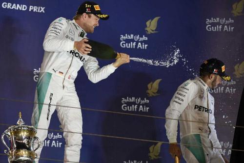 "BXH Bahrain GP: ""Bàn tay nhỏ"" cho Rosberg - 1"