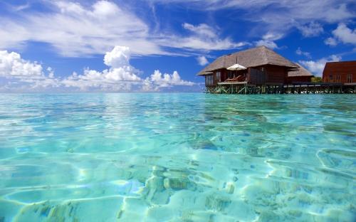 """""""Phát sốt"""" với cảnh đẹp ở Maldives - 3"""