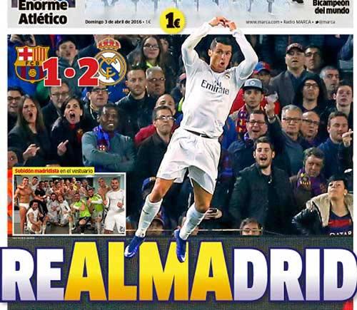 Ronaldo: Cơn ác mộng kinh hoàng của Barca - 1