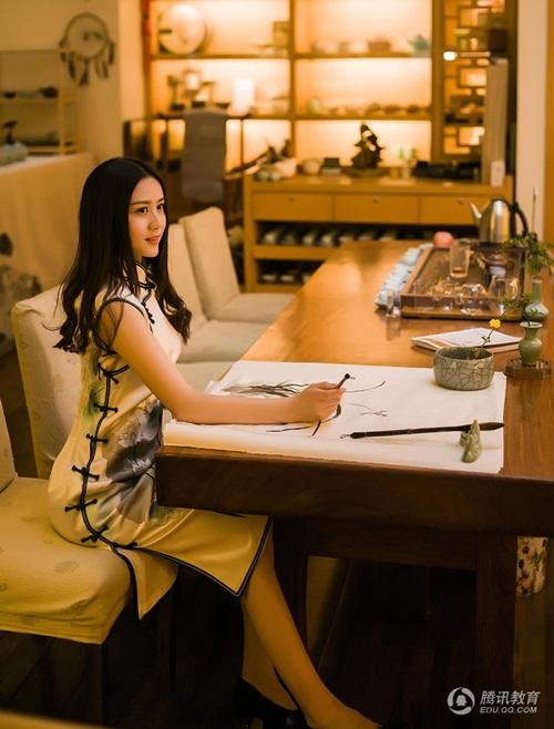 Ngắm cô giáo tiểu học xinh đẹp nhất Trung Quốc - 3