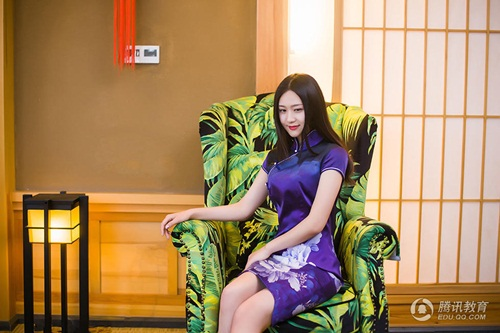 Ngắm cô giáo tiểu học xinh đẹp nhất Trung Quốc - 4