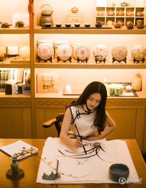 Ngắm cô giáo tiểu học xinh đẹp nhất Trung Quốc - 6