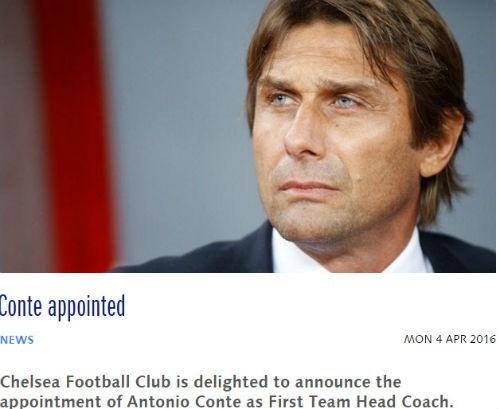 Conte về Chelsea - 1