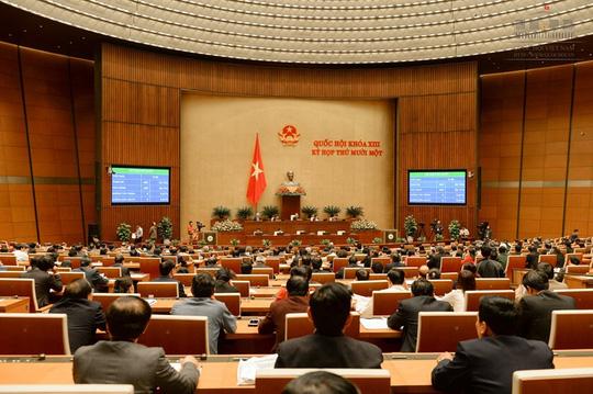 Hoãn công bố kết quả bầu 2 tân Phó chủ tịch Quốc hội - 1