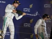 """Đua xe F1 - BXH Bahrain GP: """"Bàn tay nhỏ"""" cho Rosberg"""
