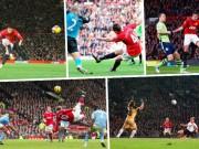 Bóng đá - Rooney thống trị 10 bàn đẹp nhất MU ở Old Trafford