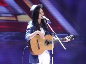 Cô gái giống Mỹ Tâm gây sốt X-Factor 2016 tập đầu tiên