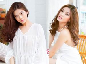 Diễm Trang khoe vẻ đẹp tinh khôi trong sắc trắng