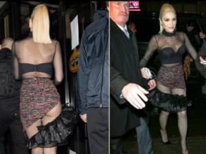 """""""Bà chủ thời trang"""" gây xôn xao với váy hở vòng 3"""