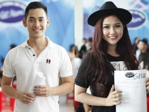 """Trai xinh, gái đẹp """"đổ bộ"""" vòng loại Vietnam Idol"""