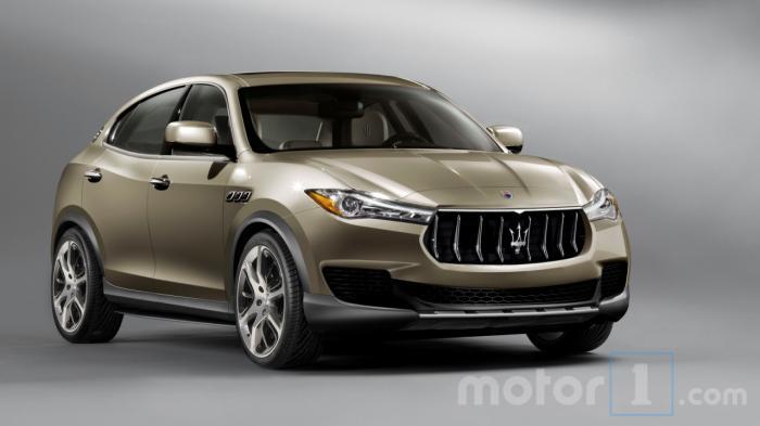 Maserati Kubang 2018 bất ngờ lộ diện - 1