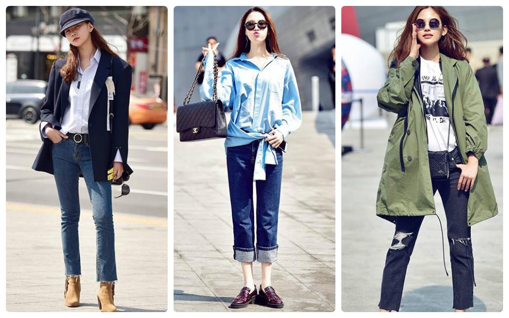 Xuống phố cực chất như tín đồ thời trang Hàn Quốc - 4