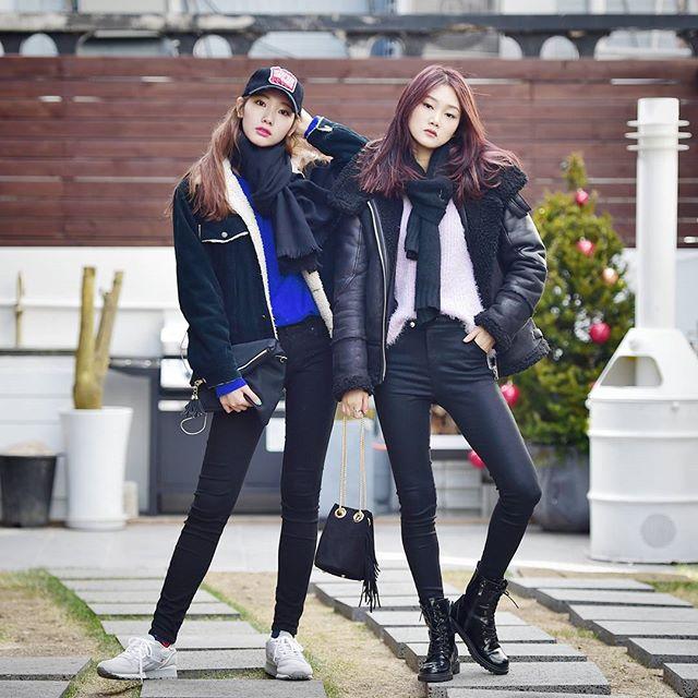 Xuống phố cực chất như tín đồ thời trang Hàn Quốc - 5