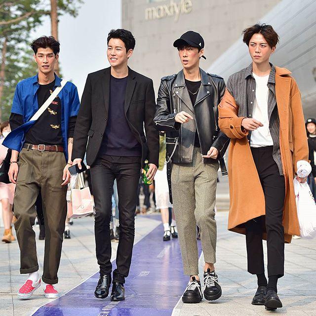 Xuống phố cực chất như tín đồ thời trang Hàn Quốc - 12