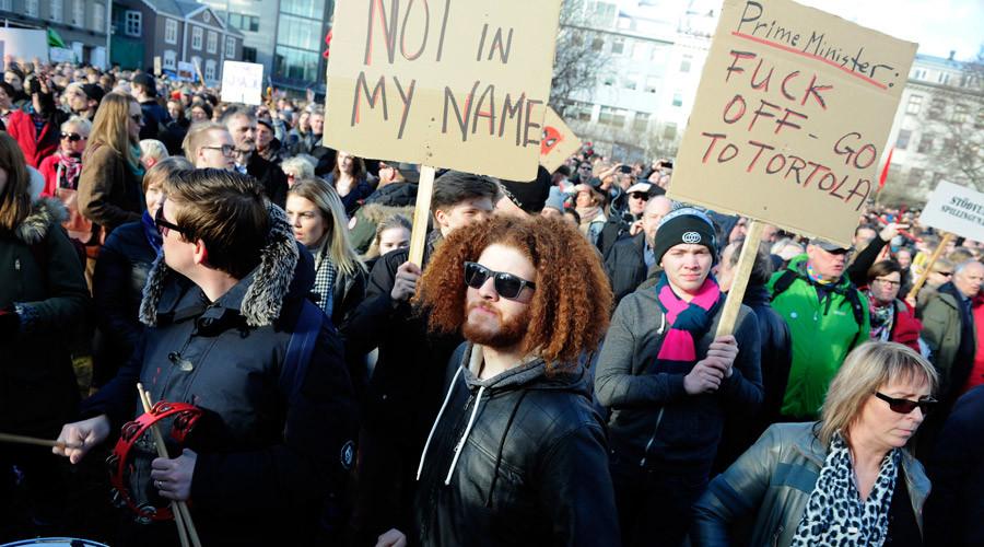 Dân phẫn nộ xuống đường đòi Thủ tướng Iceland từ chức - 3