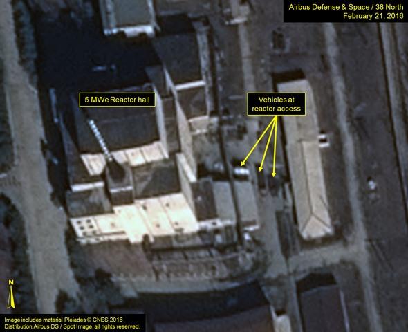 Dấu hiệu đáng ngờ ở lò phản ứng hạt nhân Triều Tiên - 1
