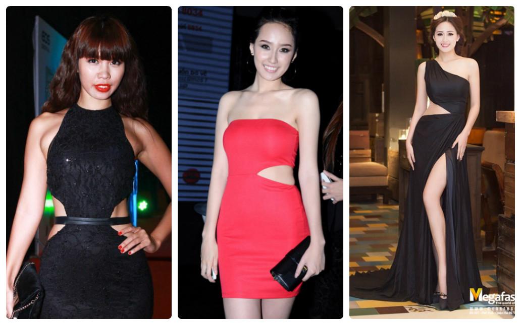5 kiểu váy cắt xẻ được mỹ nhân khắp hành tinh mê mẩn - 5