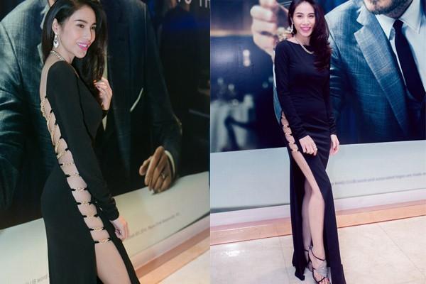 5 kiểu váy cắt xẻ được mỹ nhân khắp hành tinh mê mẩn - 15